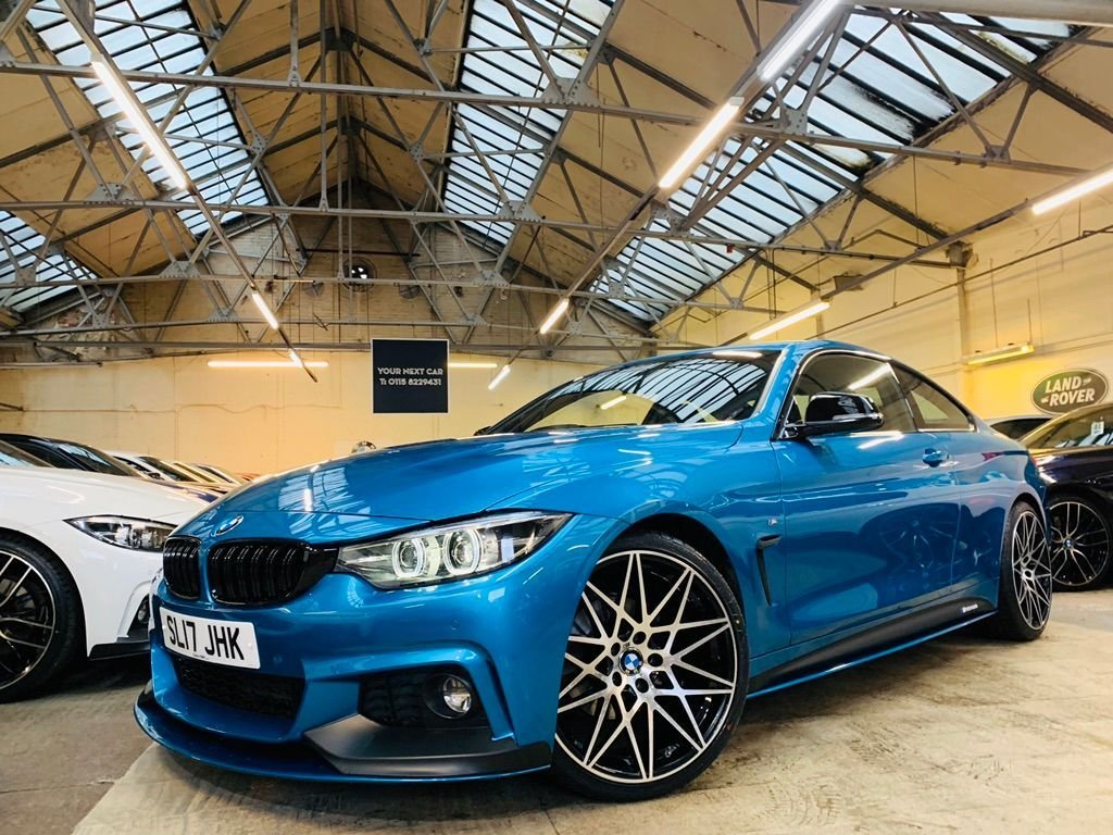 USED 2017 17 BMW 4 SERIES 2.0 420d M Sport Auto (s/s) 2dr BESPOKE PERFORMANCEKIT+20S+PRO
