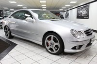USED 2006 06 MERCEDES-BENZ CLK 3.0 CDI CLK320 SPORT AUTO FULL HEATED LEATHER 18s CRUISE