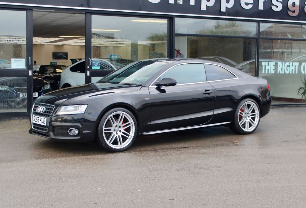 USED 2009 59 AUDI A5 2.0 TDI S LINE SPECIAL EDITION 2d 168 BHP