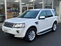USED 2013 13 LAND ROVER FREELANDER 2.2 TD4 GS 5 DOOR FULL LEATHER 150 BHP
