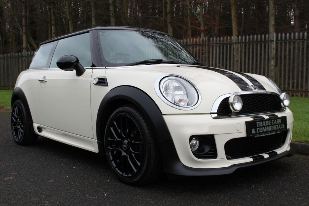 USED 2012 62 MINI COOPER COOPER 1.6 JCW BODYKIT A HIGH SPEC EXAMPLE WITH JCW AERO KIT AND SAT NAV!!!