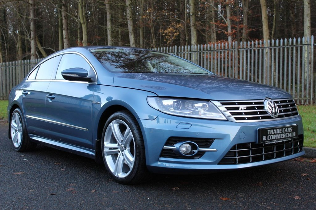 USED 2015 65 VOLKSWAGEN CC 2.0 R LINE TDI BLUEMOTION TECHNOLOGY DSG 4d 148 BHP A LOW OWNER, LOW MILEAGE, GREAT SPEC CAR WITH FULL SERVICE HISTORY!!!