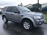 2012 LAND ROVER FREELANDER 2.2 SD4 190ps AUTO BLACK HEATED LEATHER  £10295.00