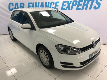 2014 VOLKSWAGEN GOLF 1.2 S TSI BLUEMOTION TECHNOLOGY 5d 103 BHP £7000.00