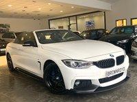 USED 2017 17 BMW 4 SERIES 2.0 420D M SPORT 2d 188 BHP BM PERFORMANCE STYLING+PRO NAV