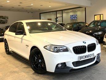 2016 BMW 5 SERIES 2.0 520D M SPORT 4d 188 BHP £16490.00