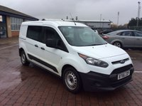 2016 FORD TRANSIT CONNECT 1.5 230 CREW CAB 100 BHP EURO 6 (BT66ZZP) £9400.00