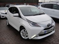 USED 2017 66 TOYOTA AYGO 1.0 VVT-I X-PURE 5d 69 BHP ANY PART EXCHANGE WELCOME, COUNTRY WIDE DELIVERY ARRANGED, HUGE SPEC