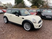 USED 2011 11 MINI HATCH ONE 1.6 ONE 3d 98 BHP GREAT LOW MILEAGE EXAMPLE WITH FULL SERVICE HISTORY
