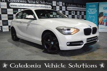 2012 BMW 1 SERIES 1.6 116I SPORT 3d 135 BHP £6888.00