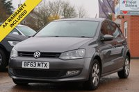 2013 VOLKSWAGEN POLO MATCH EDITION £5495.00