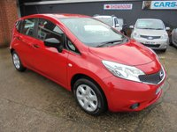 USED 2016 65 NISSAN NOTE 1.2 VISIA 5d 80 BHP