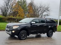 USED 2012 12 FORD RANGER 2.2 LIMITED 4X4 DCB TDCI 4d 148 BHP
