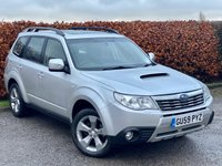 USED 2009 59 SUBARU FORESTER 2.0 D XC 5d  * NEW CLUTCH JUST FITTED * FOUR WHEEL DRIVE * SUNROOF *