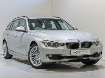 2014 BMW 3 SERIES 2.0 325D LUXURY TOURING 5d 215 BHP £13990.00