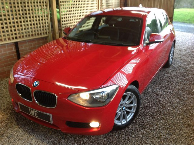 2013 13 BMW 1 SERIES 1.6 116D EFFICIENTDYNAMICS 5d 114 BHP
