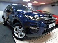 USED 2017 17 LAND ROVER DISCOVERY SPORT 2.0 TD4 PURE SPECIAL EDITION 5d 150 BHP