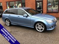 """USED 2010 60 MERCEDES-BENZ C CLASS 2.1 C220 CDI BLUEEFFICIENCY SPORT 5DOOR 170 BHP Cruise Control / Speed Limiter   :   Phone Bluetooth Connectivity   :   Auto Tailgate                   Front & Rear Parking Sensors   :   18"""" Alloys   :   2 Keys   :   Comprehensive Service History"""