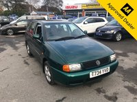 1999 VOLKSWAGEN POLO 1.6 CL 5d 99 BHP IN GREAT CONDITION INSIDE AND OUT WITH 60000 MILES AND 20 SERVICE STAMPS (TRADE CLEARANCE) £999.00