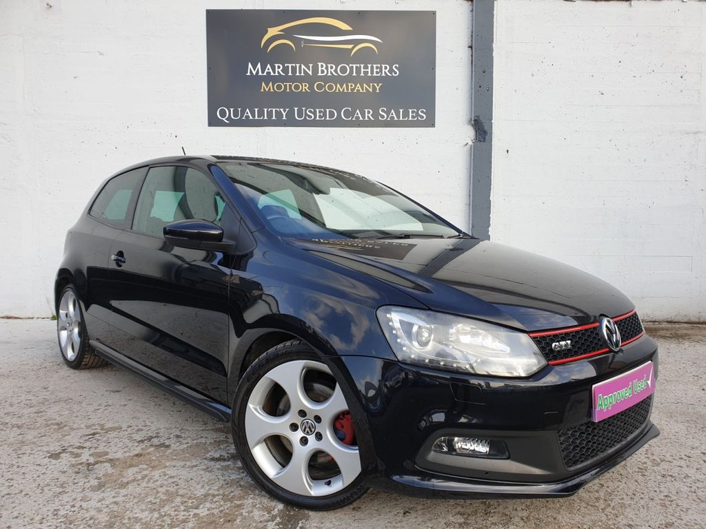 USED 2012 12 VOLKSWAGEN POLO 1.4 GTI DSG 3d 177 BHP