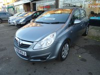 2011 VAUXHALL CORSA 1.2 EXCLUSIV A/C 5d 83 BHP SOLD