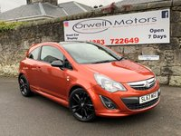 USED 2013 63 VAUXHALL CORSA 1.2 LIMITED EDITION 3d 83 BHP CRUISE CONTROL+2 OWNERS FROM NEW+FULL SERVICE HISTORY+LOW INSURANCE AND RUNNING COSTS