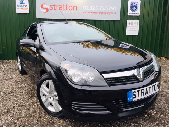 2009 09 VAUXHALL ASTRA 1.6 TWIN TOP AIR 3d 114 BHP