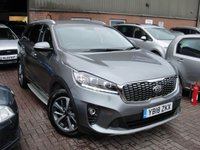 USED 2018 18 KIA SORENTO 2.2 CRDI KX-2 ISG 5d 197 BHP ANY PART EXCHANGE WELCOME, COUNTRY WIDE DELIVERY ARRANGED, HUGE SPEC