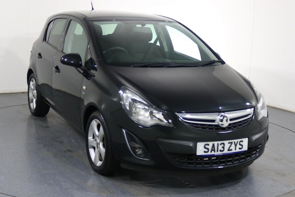 USED 2013 13 VAUXHALL CORSA 1.2 SXI AC 5d 83 BHP Demo and 2 OWNERS with 5 Stamp SERVICE HISTORY