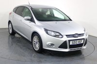 USED 2013 13 FORD FOCUS 1.0 ZETEC 5d 124 BHP 2 OWNERS with 6 Stamp SERVICE HISTORY