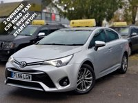 USED 2016 66 TOYOTA AVENSIS 2.0 D-4D BUSINESS EDITION 4d 141 BHP! p/x welcome! TOUCH SAT-NAV! REVERSE CAMERA! £30 ROAD TAX! 2 OWNERS! BLUETOOTH! START/STOP! CRUISE & CLIMATE CONTROL! 6 SPEED! FULL TOYOTA SERVICE HISTORY! FINANCE AVAILABLE! NEW MOT & SERVICE! 2 YEARS TOYOTA WARRANTY! AA WARRANTY & BREAKDOWN COVER! NATIONWIDE DELIVERY AVAILABLE! TOUCH SAT-NAV+REVERSE CAMERA+B/TOOTH+£30 TAX+2OWNERS+START/STOP+6 SPEED+FULL TOYOTA HIST+2 YR TOYOTA WARRANTY!