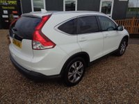 USED 2014 14 HONDA CR-V 2.0 i-VTEC EX 4x4 5dr 1 Owner-Pan Roof-Nav-Leather