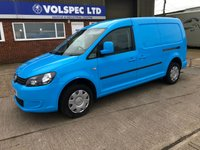 USED 2013 13 VOLKSWAGEN CADDY MAXI 1.6 C20 TDI STARTLINE 102 BHP LOW MILEAGE