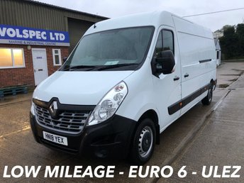 2018 RENAULT MASTER 2.3 LM35 BUSINESS ENERGY DCI 145 BHP [EURO 6] £13000.00