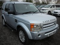 2008 LAND ROVER DISCOVERY 2.7 3 TDV6 SE 5d 188 BHP £5500.00