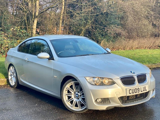 USED 2009 09 BMW 3 SERIES 335d M Sport 2dr Auto FULL HEATED LEATHER INTERIOR, SAT NAV.