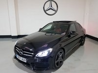 USED 2017 67 MERCEDES-BENZ C CLASS 2.1 C300 H AMG LINE PREMIUM PLUS 4d 204 BHP Pan Roof/Nav/Camera/Leather/Burmester Sound/Night Pack