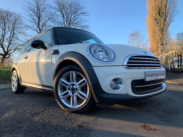 USED 2012 12 MINI HATCH COOPER 1.6 COOPER 3d 122 BHP HISTORY+CLIMATE+SPOILER+ALLOY+ELECS+LOW MILAGE+HALF LEATHER+AUX+