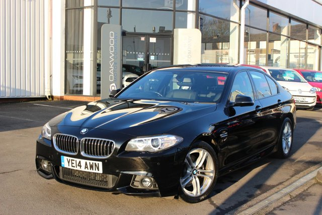 USED 2014 14 BMW 5 SERIES 2.0 520d M Sport 4dr SALOON