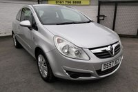 USED 2007 57 VAUXHALL CORSA 1.2 CLUB A/C 16V 3d 80 BHP * GREAT FIRST TIME CAR *