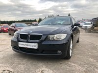 USED 2008 58 BMW 3 SERIES 2.0 318I EDITION SE 4d 141 BHP HEATED LEATHER+MEDIA+CRUISE+ALLOYS+CLIMATE+AIRCON+ELECS+AUX+CD+