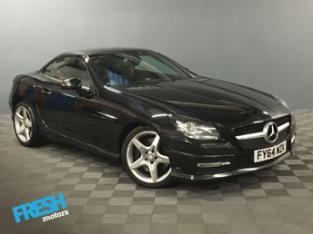 2014 MERCEDES-BENZ SLK 2.1 SLK250 CDI BLUEEFFICIENCY AMG SPORT 2d AUTO £12500.00