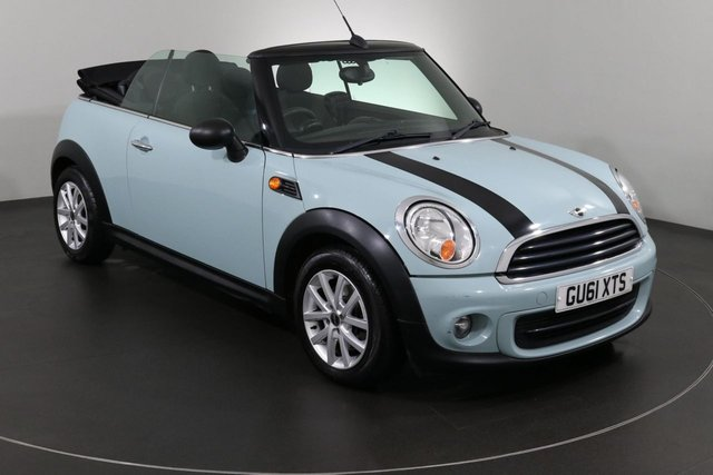 2011 61 MINI CONVERTIBLE 1.6 ONE 2d 98 BHP ULEZ EXEMPT