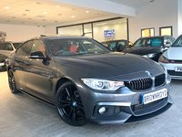 USED 2014 14 BMW 4 SERIES GRAN COUPE 2.0 420D M SPORT GRAN COUPE 4d 181 BHP BM PERFORMANCE STYLING+PRO NAV