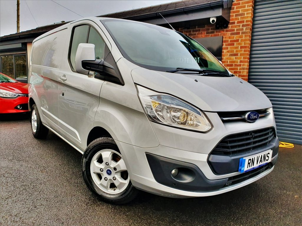 USED 2016 16 FORD TRANSIT CUSTOM 2.2 270 LIMITED LR P/V 124 BHP *** GREAT SPEC - HEATED SEAT - DAB ***