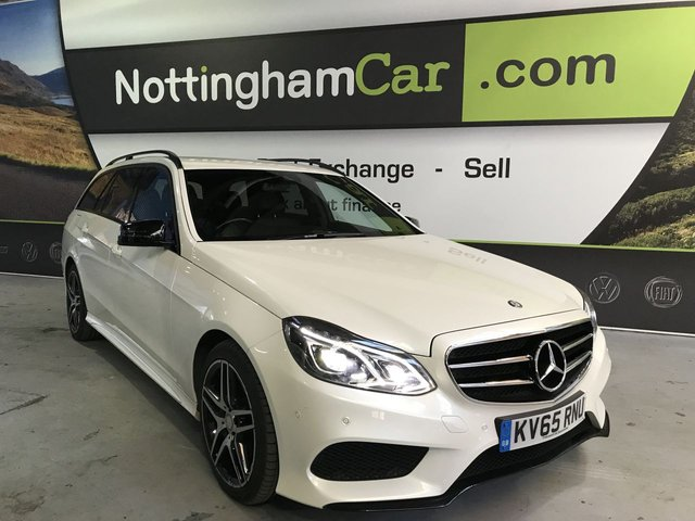 USED 2015 65 MERCEDES-BENZ E CLASS 2.1 E220 BLUETEC AMG NIGHT EDITION 5d 174 BHP