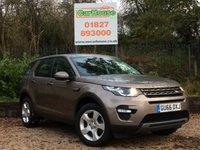 USED 2016 66 LAND ROVER DISCOVERY SPORT 2.0 TD4 SE TECH 5dr Sat Nav, Cruise, 1 Owner
