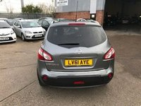 USED 2011 61 NISSAN QASHQAI+2 1.6 TEKNA IS PLUS 2 5d 117 BHP