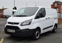 USED 2017 67 FORD TRANSIT CUSTOM 2.0 290 L1 H1 SWB LOW ROOF 105 BHP