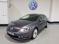 2015 VOLKSWAGEN CC 2.0 GT TDI BLUEMOTION TECHNOLOGY 4d 148 BHP SOLD